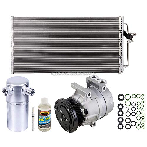 A/C Kit w/AC Compressor Condenser Drier For Chevrolet Monte Carlo Lumina - BuyAutoParts 60-80620CK New