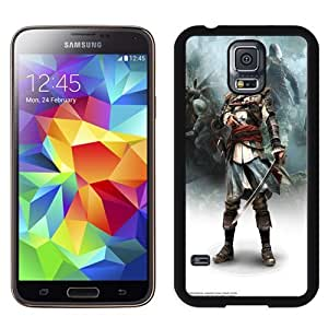 New Personalized Custom Designed For Samsung Galaxy S5 I9600 G900a G900v G900p G900t G900w Phone Case For Assassins Creed IV Black Flag Poster Phone Case Cover