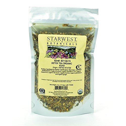 Starwest Botanicals Organic Detox Tea, 4 Ounces