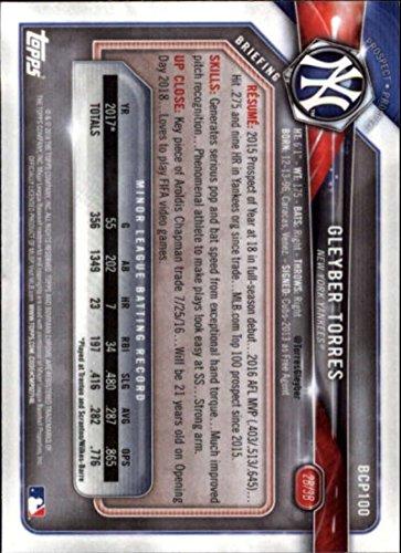 2018 Bowman Chrome Prospects #BCP100 Gleyber Torres NM-MT Yankees