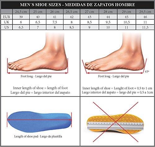 Zerimar Höjd Ökar Hiss Skor För Män Lägger + 2,4 Inches Till Dina Läderskor Höjd Kvalitet Made In Spain Marinblått