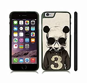 Case Cover For HTC One M9 with Smoking Panda Skull, Cool Design, Panda Skull in Hoodie, Smoking Snap-on Cover, Hard Carrying Case (Black)