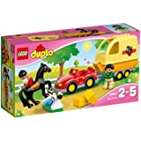 LEGO - Remolque ecuestre, multicolor (10807)