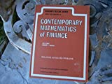 img - for Schaum's Outline of Theory and Problems of Contemporary Mathematics of Finance (Schaum's Outline Series) book / textbook / text book
