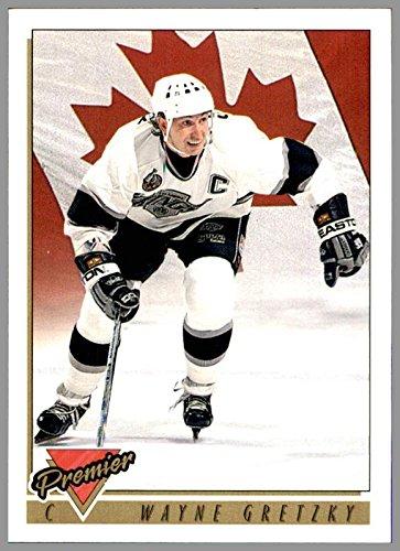 (1993-94 Topps Premier #380 Wayne Gretzky TEAM CANADA LOS ANGELES KINGS HOF)