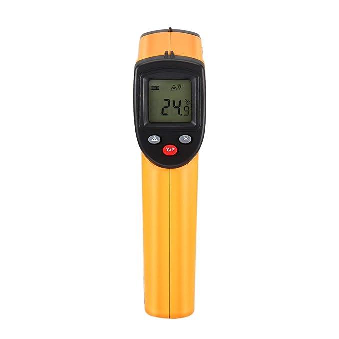 sdfghzsedfgsdfg Punto sin contacto del laser LCD Digital termómetro infrarrojo IR pistola térmica Infrared Imaging Temperatura Medidor Portátil Pirómetro ...