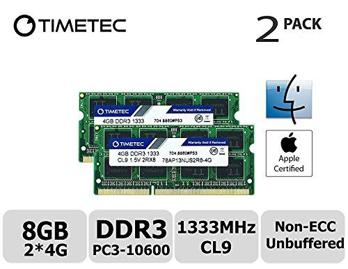 4GB RAM Upgrade for MiTAC Maestro 680 DDR3 PC3-10600 SODIMM Memory PARTS-QUICK BRAND