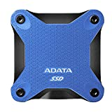 ADATA SD600Q 480G 3D NAND USB3.2 Ultra-Speed External Solid State Drive Read up to 440 MB/s Blue (ASD600Q-480GU31-CBK)