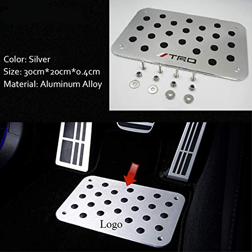 i Skid Floor Mat Carpet Foot Rest Pedal Pad Cover ()