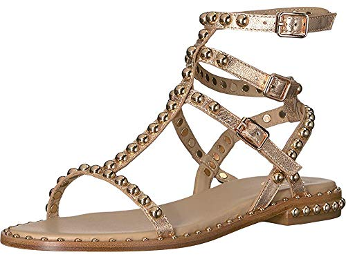 Ash Women's Play Sandals, Rame, Rose Gold, Metallic, Gold, 38 M EU