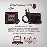 ACUPWR AJD-550 550-Watt 110-120 Volts to 100 Volt Step Down Voltage Transformer/ Converter Ideal for Samsung LCD and LED TVs, small KitchenAid mixers, small GE window AC, Haier dorm refrigerator (2.7 cubic ft.), Bionaire humidifiers, Vornado fans