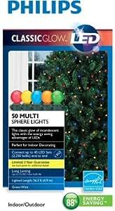 Philips Classic Glow LED 50 Multi Sphere Lights