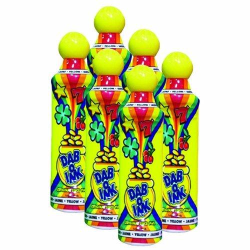 100%品質 Six Pack 1.5 Six Oz Tip 1.5 Mini Tip dab-o-inkイエローBingo Dauber B00H4FA7P2, 電子タバコ専門店 オフィスエッジ:e3df4a58 --- realcalcados.com.br