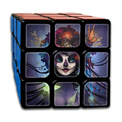 Speed Cube Sugar Skull By Flying-Fox Personalized 3 x 3 Magic Cube For Children Intelligence Toy (Sticker)