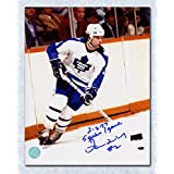 Ian Turnbull Toronto Maple Leafs Autographed 8x10 Photo w/ 5 Goals In One Game