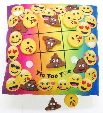 Tic Tac Toe Game Pillow Camp