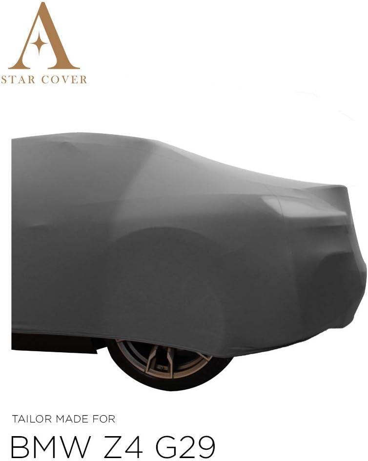 Star Cover Housse INT/ÉRIEUR Compatible avec BMW Z4 G29 | Gris Housse B/ÂCHE Auto Garage Voiture DE Sport Oldtimer LIVR/É Rapide Housse Cabriolet
