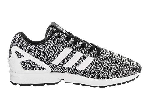 Adidas Zx Originaux De Flux En Cours Dexécution Noir De Chaussure