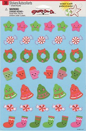 (Christmas Mittens Wreaths Bells Stockings Scrapbook Stickers (59064))