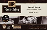 Peet's Coffee, French Roast, Dark Roast, K-Cup Pack , 10 Count