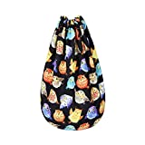 Donalworld Fabric Drawstring Backpack Animal Gym Shopping Outdoor Bags Pattern15