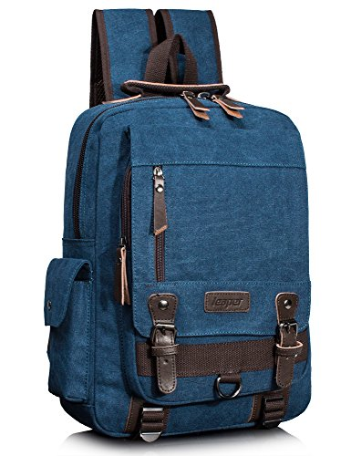 Leaper Canvas Backpack Rucksack Daypack product image