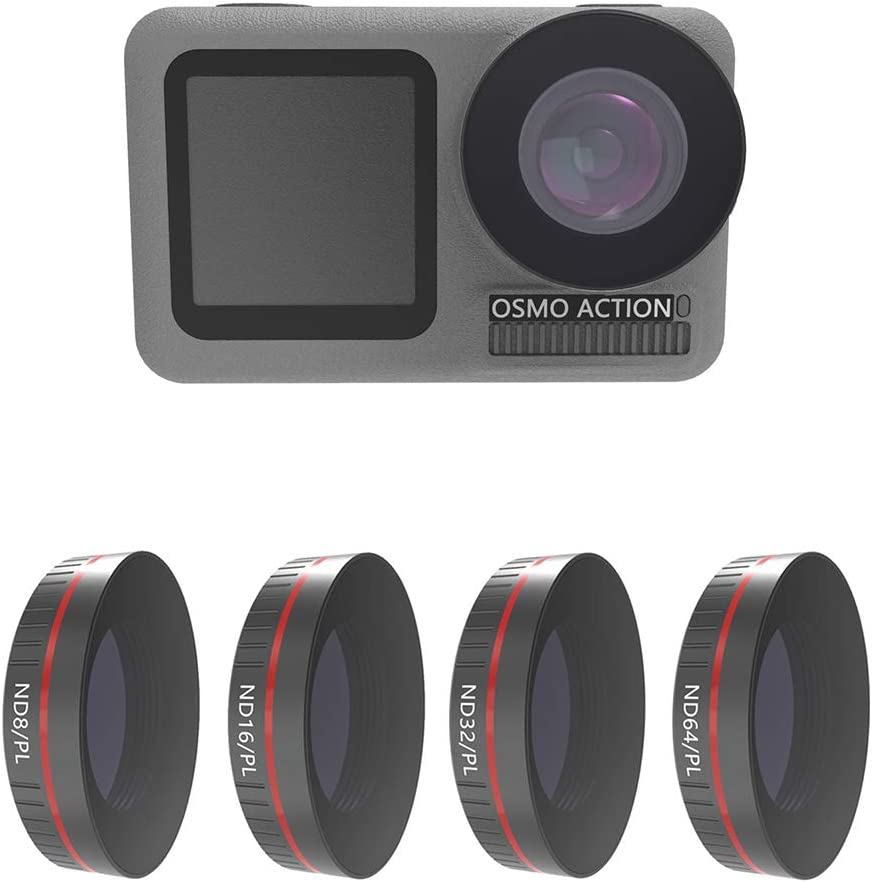 Xingsiyue Ultraviolet Filter for DJI Osmo Action UV Protective Lens Multi-Layer Optical Glass Waterproof Dust-Proof Filter