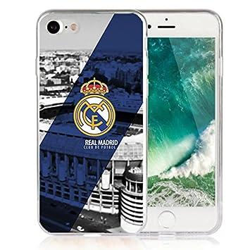 Funda Real Madrid Gel silicona Carcasa + Regalo Protector ...
