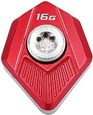 Gofotu 1Pcs. Golf Club Head Weights for Cobra King SZ Speedzone Driver 6/8/10/12/14/16g Choice Weight Red