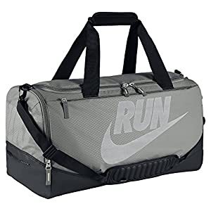 Nike Max Air Pursuit Run Gym Duffle Bag Grey BA4916