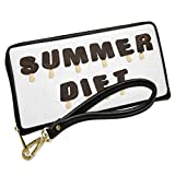 Wallet Clutch Summer Diet Ice Cream Popsicle with Removable Wristlet Strap Neonblond