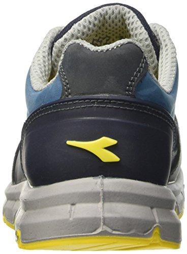 Diadora Blu Reino Low Run 13 trabajo Unido Azul para UE unisex 48 adultos de Scuro Calzado blu S3 Cielo rBrxwv1g