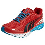 PUMA Men's BioWeb Elite Running Shoe Running Shoe,Flame Scarlet/Black/White,9.5 D US For Sale
