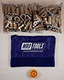 100 3/16 Standard Wing-Nut Cleco Fasteners with HBHT Tool & Bag (KWN1S100-3/16)