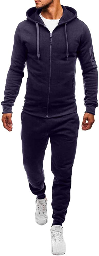 Survetement Coton Homme Solde Jogging Sport,