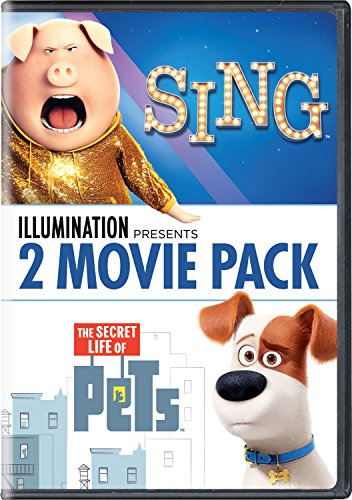 Illumination Presents: 2-Movie Pack (Sing / The Secret Life of Pets) (Six Pack Movie Dvd)