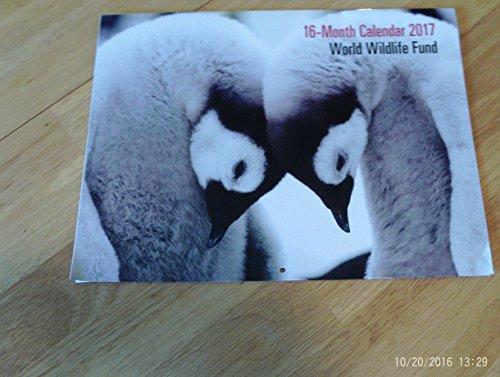 world-wildlife-fund-2017-16-month-calendar