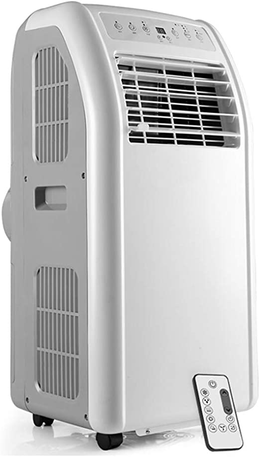 ROMX Aire Acondicionado portátil de 10000 BTU, 4 en 1 (Ventilador /Calentador/deshumidificador/Aire Acondicionado) con 2 velocidades de Ventilador, Control Remoto, Cubierta hasta 161 pies cuadr: Amazon.es: Hogar