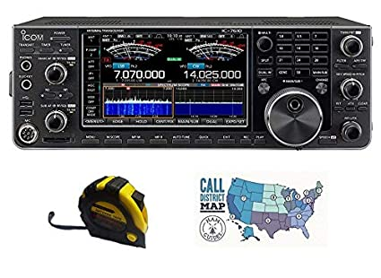 Amazon com: Bundle - 3 Items - Includes Icom IC-7610 HF/50MHz 100W
