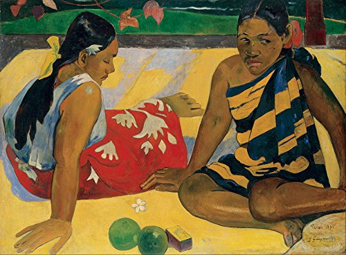 Berkin Arts Paul Gauguin Giclee Canvas Print Paintings Poster Reproduction(Parau Api)