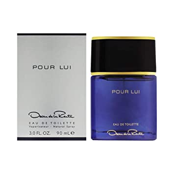 Oscar De La Renta Oscar Pour Lui for Men Eau De Toilette Spray, 3.0 Ounce