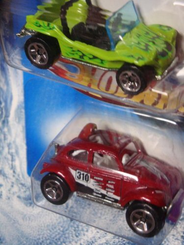 Hot Wheels Vw Baja Beetle - Meyers Manx Beach Buggy Scale 1:64