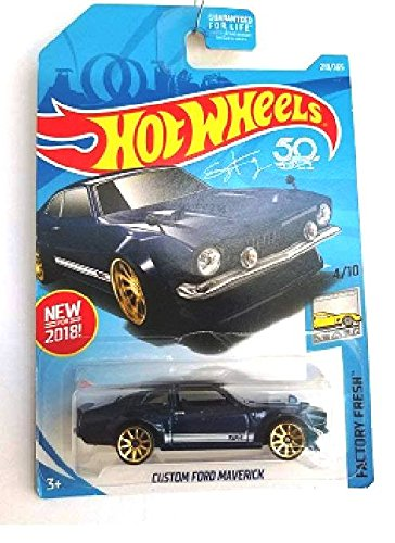 d943468cb865 Hot Wheels 2018 50th Anniversary Factory Fresh Custom Ford Maverick  219 365