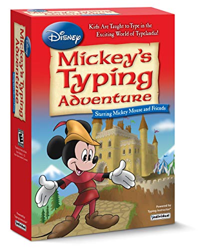 Mickey's Typing Adventure Windows EMM-MTA
