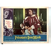 MOVIE POSTER: Prisioner Of The Iron Mask-Silvio Bagolini-11x14-Color-Lobby Card