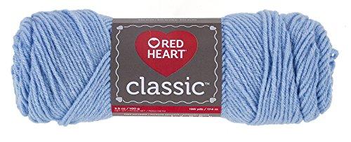 - Red Heart 61499 Classic Yarn, Blue Jewel