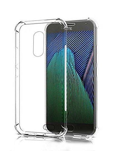 ZTE Blade Spark Case,ZTE Grand X4 Case,Mustaner Shock-Absorption Flexible TPU Rubber Soft Silicone Full-body Protective Cover for ZTE Blade Spark Z971/Z956 (TPU Clear)