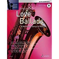 Love Ballads. Alt-Saxophon. Ausgabe mit CD: 14 Wonderful