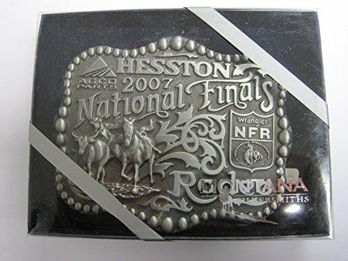 Hesston 2007 National Finals Rodeo Adult Belt Buckle