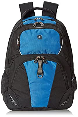 Swiss Gear SA6685 Black with Blue Laptop Backpack - Fits Most 15 Inch Laptops and Tablets from SwissGear